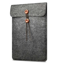 Felt Envelope Laptop Sleeve Carrying Case Cover Protector Bag For 13-13.3 inch Notebook Computer MacBook Air Pro Retina Disp