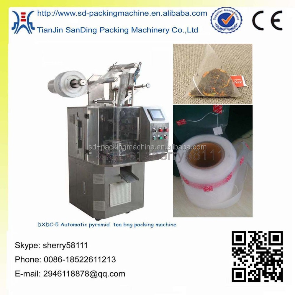 Full automatic tea packing machine with wholesale price