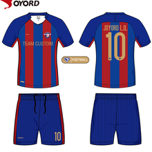 custom 100 % polyester soccer jersey football shirt maker soccer jersey