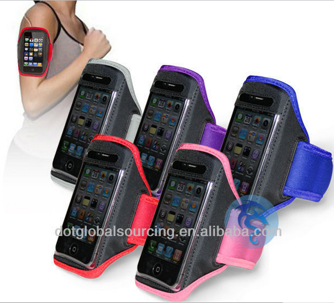 cheap wholesale fancy portable armband mobile phone cover
