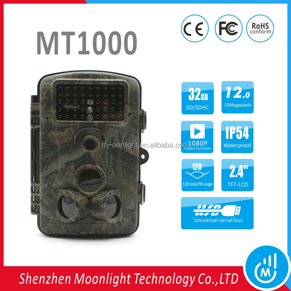 "Wholesale hot sale hunting camera mms with a 2.4"" TFT-LCD color monitor"