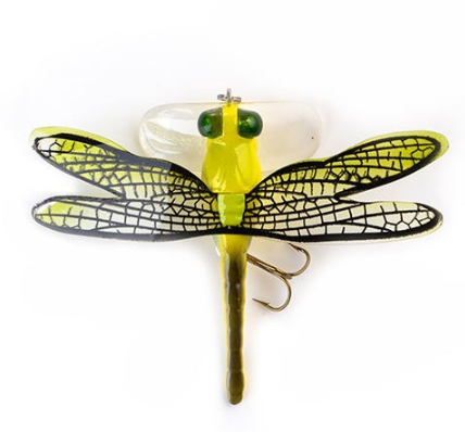 Topwater Dragonfly Insect <strong>Fishing</strong> Lure Artificial Bait 7.5cm 6g twitch Wobblers Lifelike Hard Bait