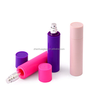 10ml glass perfume tube with outer plastic