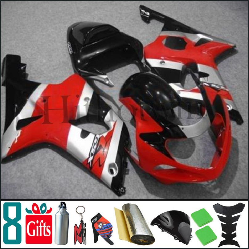 2000 2001 2002 GSXR1000 K1 red black Body Kit Fairing For Suzuki GSX-R1000 00 01 02 GSXR 1000 K1 001 02 2000