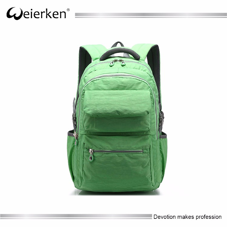 black blank fashion backpack laptop bag wholesale