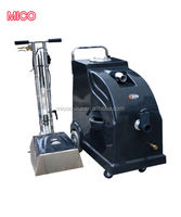 Wet and dry carpet floor vacuum cleaning machine