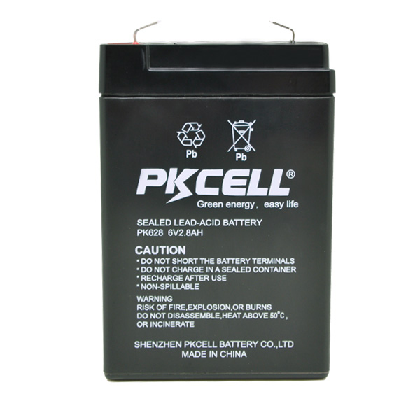 6v 4ah rechargeable lead acid battery from PKCELL