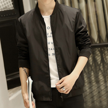MS70939G Super popular men black casual thin jackets