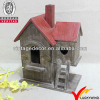 2013 New!! FSC Wood Farmhouse French Country Style Birdhouse
