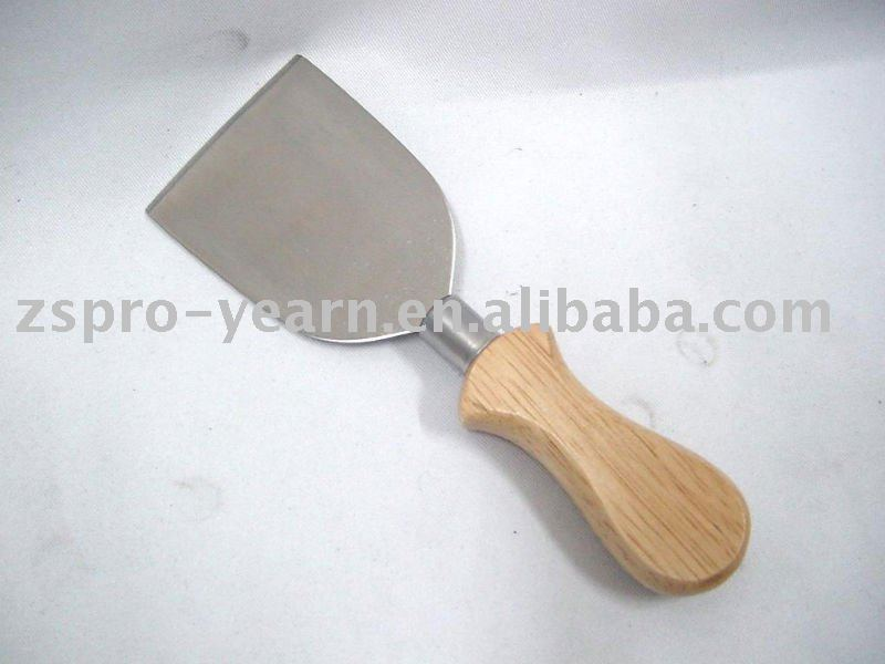 wood handle cheese spread knife