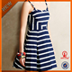 OEM women dresses names of ladies plus size stripe dresses