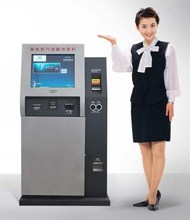 Self Service Touch Screen Kiosk Machine With Payment Function