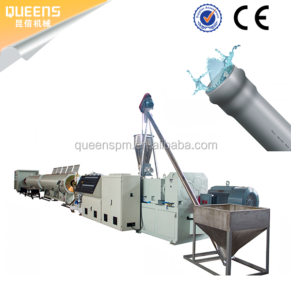 QUEENS plastic PVC pipe extrusion line PVC tube production line manufacturer