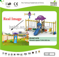 Swing Sets & Slide Combination (includes Tire Swings, Swings for toddlers and infants)-best choice for School Playgrounds