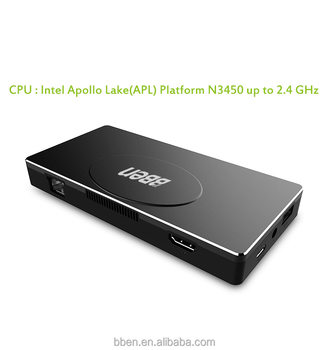 Intel Apollo lake N3450 4GB RAM 64GB/128GB SSD mini pc