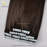 Alibaba Trade Assurance Super Tape Remy Brand Name double drawn virgin indian remy hair extensions