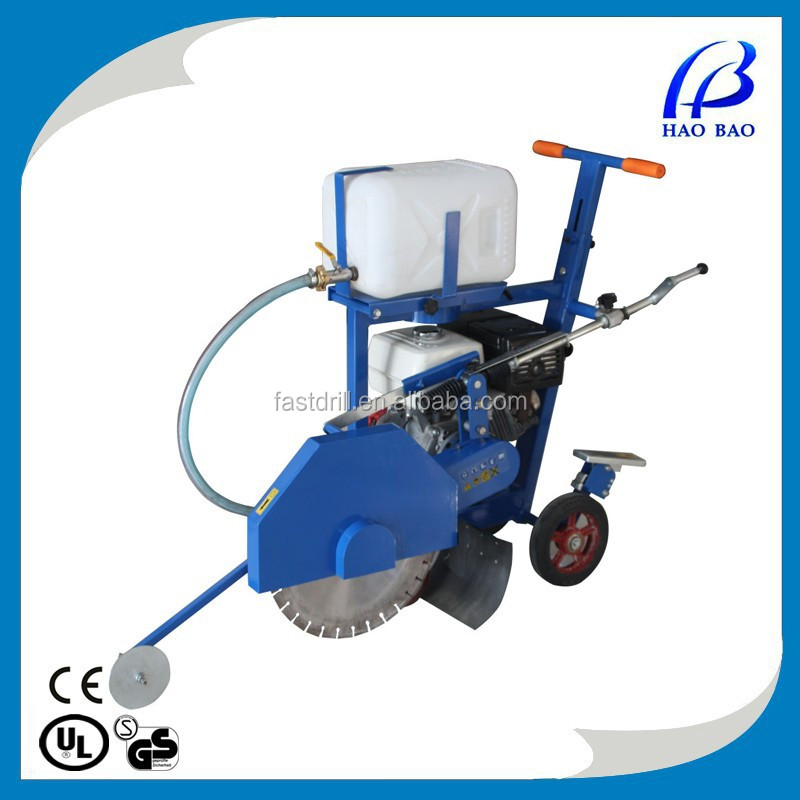 HXR450H petrol engine cutting machine concrete/asphalt road cutter floor saw