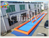 Crazy fun custom inflatable city slides, inflatable water slip n slides for kids and adults