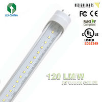 High Lumen High Brightness 4ft 18W 2864 lumen External Drive LED Tube Light