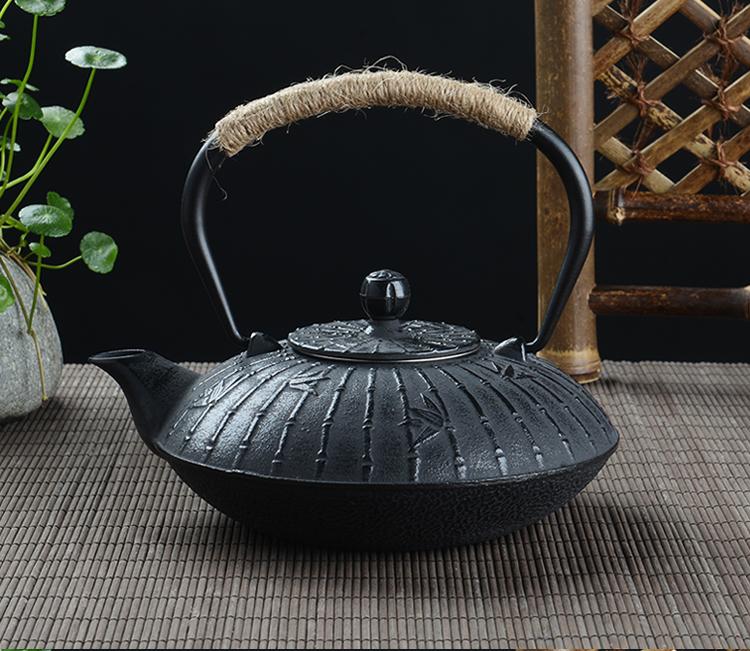 Joli Théière bambou en fonte 900 ml | oko-oko