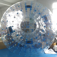 Outdoor TPU grass ball giant human hamster ball for sale