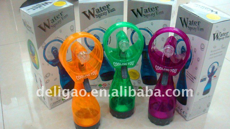 Magic Ice Cool Water Spray Mist Fan for air cooling