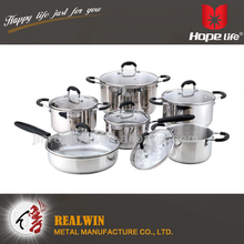 2016 new products palm restaurant stainless steel cookware mini hot pot , stainless steel cookware