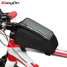 Top tube mobile phone bicycle bag