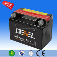 Up-selling qw moto bateria, MF qw moto bateria with acid pack,12V 3ah bateria for qw moto with factory price