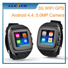 3G Smart Watch Phone Android 4.4 OS Smartphone Smartwatch support WIFI GPS 3G WCDMA with 5.0MP Camera