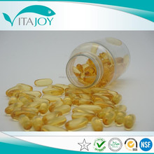 GMP certificated high quality soybean Lecithin softgel/fish oil/omega softgel