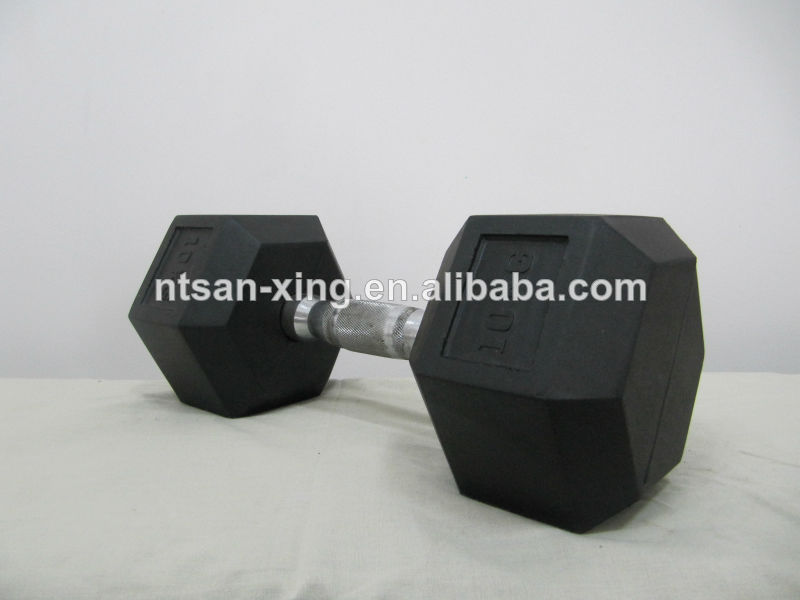 Natural Rubber Coated Dumbbell