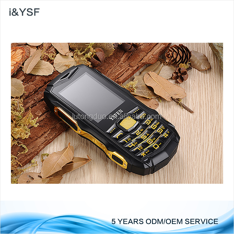 Factory feature phone Dual SIM 2.4 inch Rugged Mobile IP67 industrial rugged phone