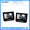 Fast delivery 7 inch headrest DVD player with car charger/headrest mount