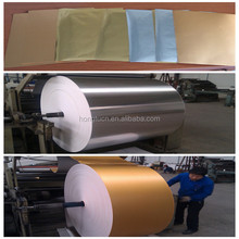 Gold&Silver aluminum foil laminated paper
