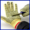Manufacturer 2015 industrial machinist work gloves safty vinyl gloves