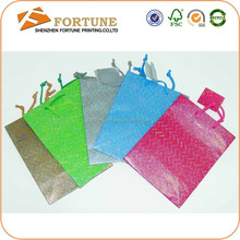 Custom Design Different Types Of Paper Carrier Bag, Machine Making Paper Bag Wholesale