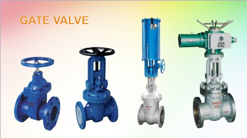electric actuator flange water slide gate valve