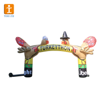 Custom Shape Promotional Inflatable Product Start Finish inflatable arch for race/inflatable start finish arch