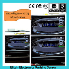 car reverse parking sensor with camera