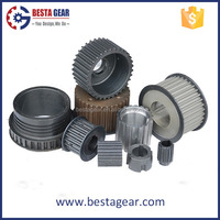 Customized high precision belt timing pulleys for sale