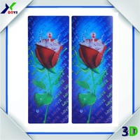 2015 Plastic Lenticular Animals 3D Bookmarks