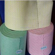 Non-woven Soft Facial Cleansing Disposable Towel Roll