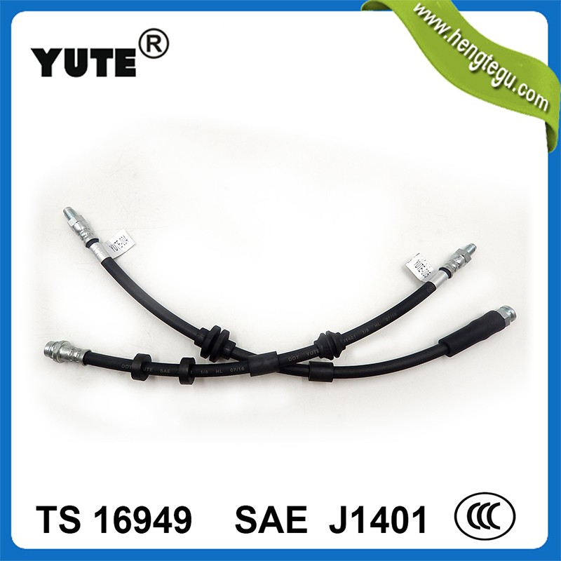 High performance DOT approved 1/8 inch hydraulic hose sae j1401 in auto brake system