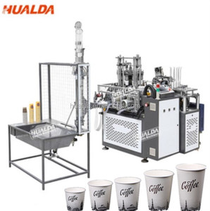 Full automatic disposable paper cup and plate making machine