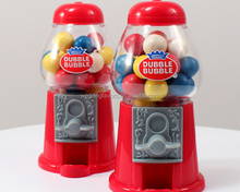 Red Mini Classic Gumball Machines
