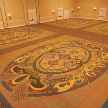 Hotel Bright Design Factory Price Flooring Lobby Banquet Hall Carpet