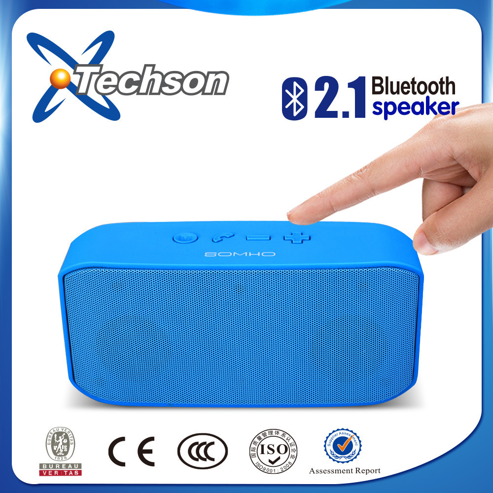 active mini bluetooth super bass portable speaker for FM/USB/TF/phone/mp3/mp4/tablet