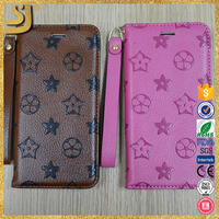 Pu leather phone case, top grade sublimation leather phone case