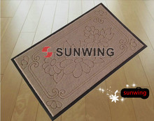 Prined anti slip door mat/carpet